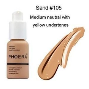 PHOERA Soft Matte Full Coverage #105